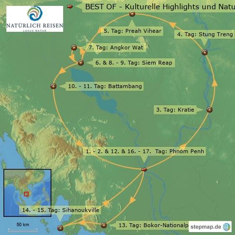 Kambodscha Rundreisen # Reisen # Urlaub Badeurlaub 2017 buchen