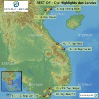 Vietnam - BEST OF - Die Highlights des Landes