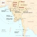 Karte: Burma