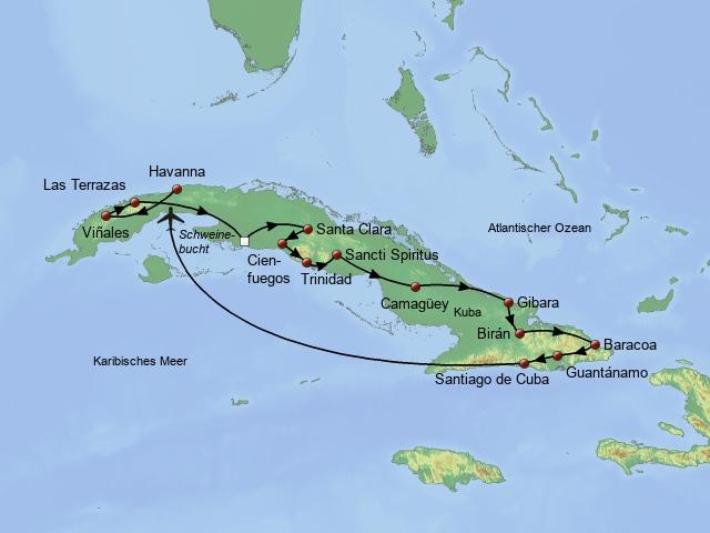 Große Kuba Rundreise 2018/2019