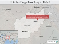 Afghanistan: Tote bei Doppelanschlag in Kabul