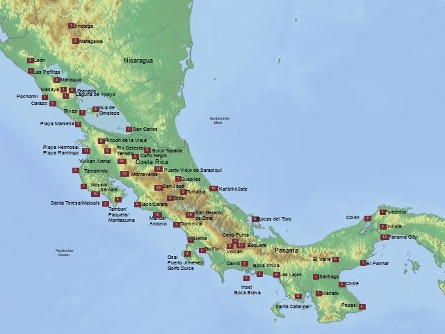 KOBE Flexi Mittelamerika