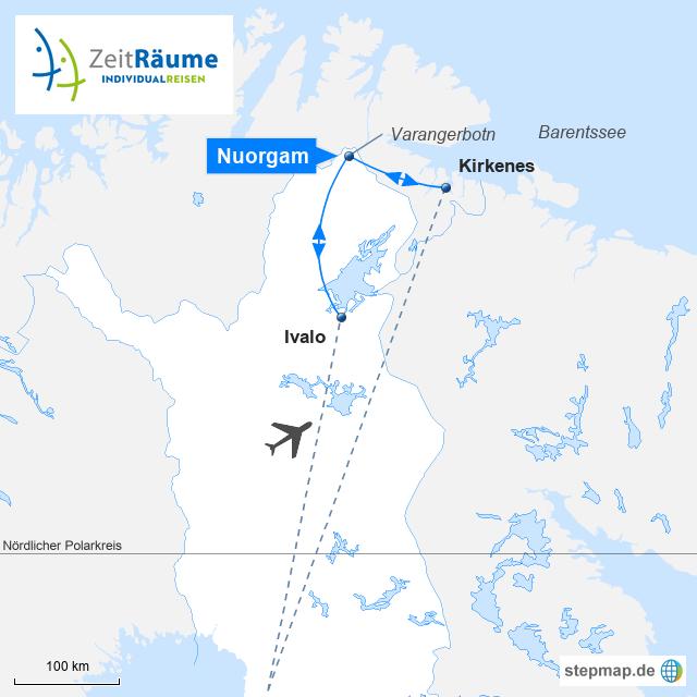Lappland Winterreisen -