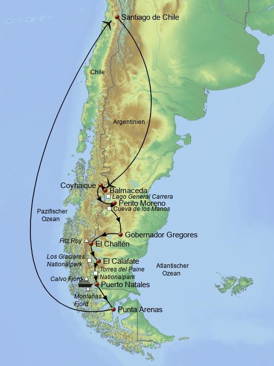 Juwelen Patagoniens