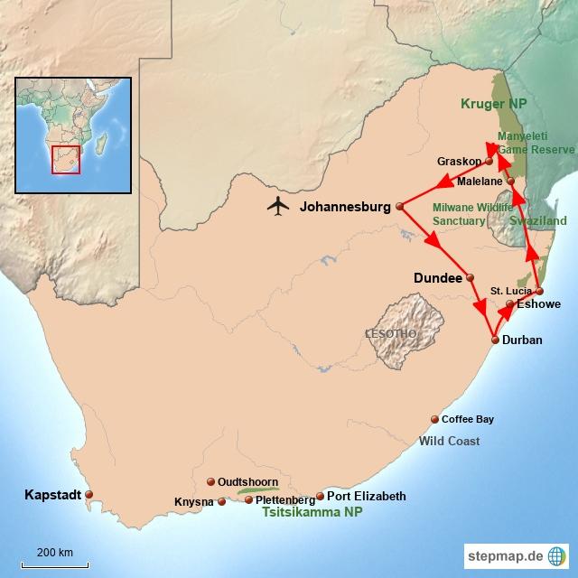 SA Zululand & Battlefields