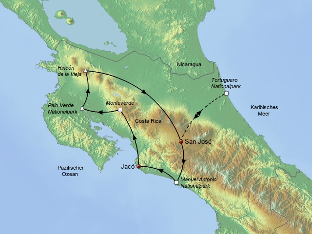 Naturwunder Costa Ricas 2018