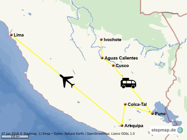 Peru-Rundreise