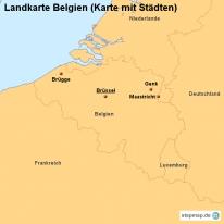 stepmap landkarten und karten zu belgien. Black Bedroom Furniture Sets. Home Design Ideas