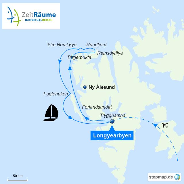 Spitzbergen - Segelreise mit der SV Rembrandt van Rijn