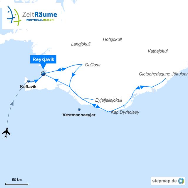 551 - Schnupperreise Reykjavik