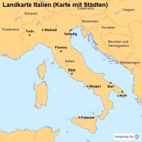 stepmap landkarten und karten zu italien. Black Bedroom Furniture Sets. Home Design Ideas