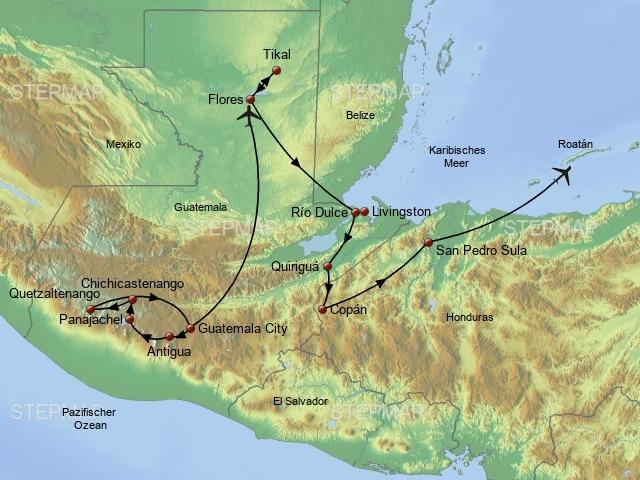 Im Zentrum der Mayakultur