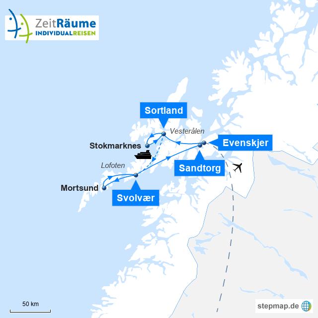 Norwegen Winterreise - Winterzauber Lofoten und Vesterålen mit Logo