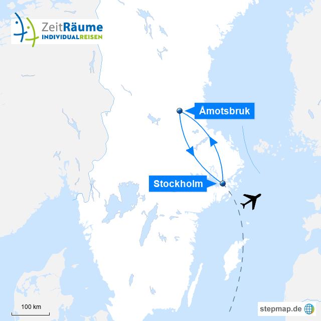 Schweden Winterreise - Stilvolle Winterwoche + Stockholm mit Logo