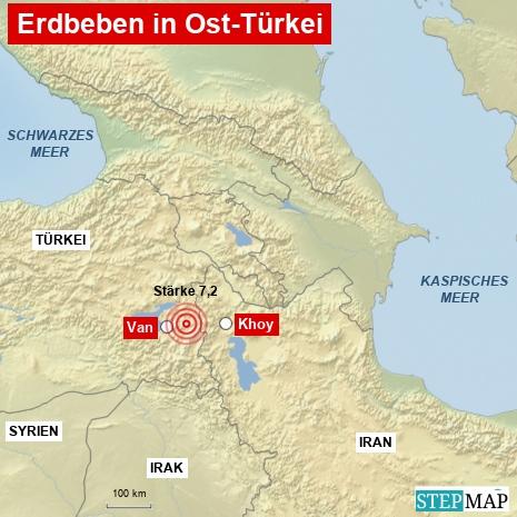 Erdbeben Türkei