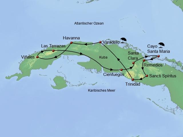 Kuba entspannt genießen