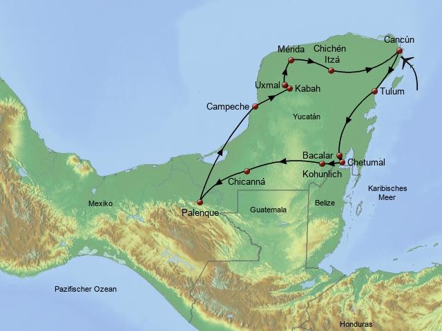 Kuba Mexiko Mexiko Teil