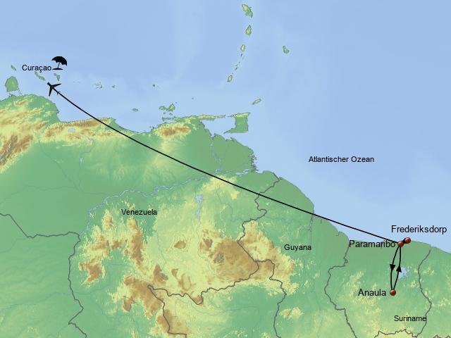 Erlebnis Suriname & Curacao