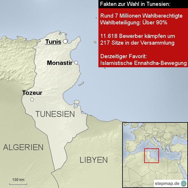 Wahl in Tunesien