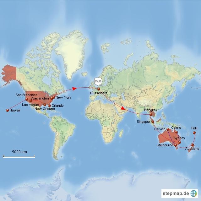 Weltreise 2012