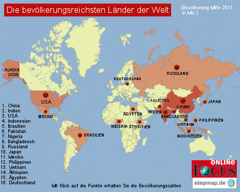 Weltbevölkerung