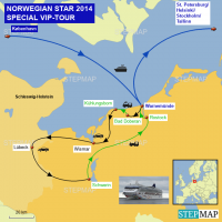 NORWEGIAN STAR May 2014 VIP-Tour