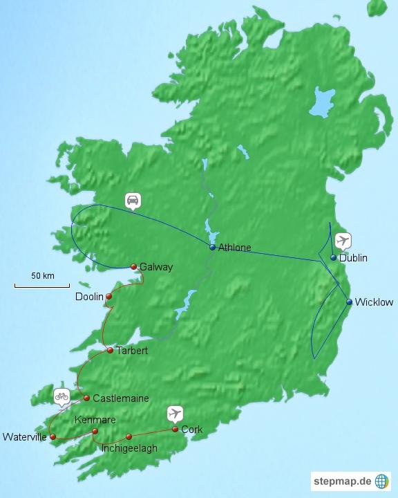Irlandrundreise