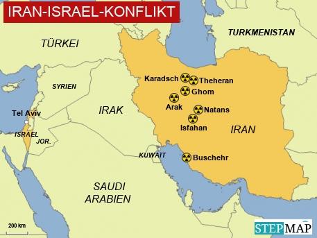 Iran-Israel-Konflikt