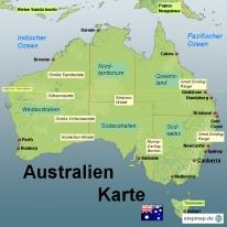 stepmap landkarten und karten zu australien. Black Bedroom Furniture Sets. Home Design Ideas