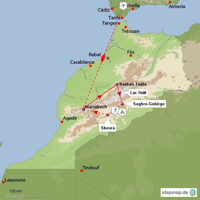 Karte von Stepmap