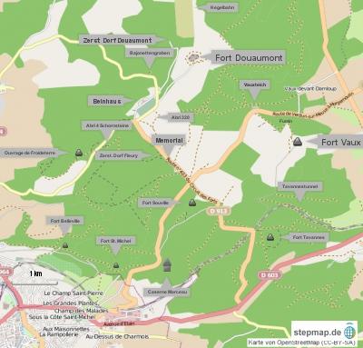 Zentrales Schlachtfeld Verdun