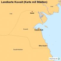 stepmap landkarten und karten zu kuwait. Black Bedroom Furniture Sets. Home Design Ideas