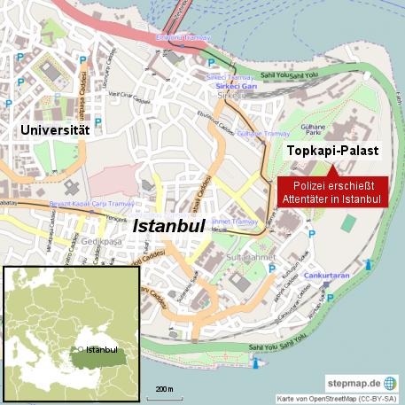 Attentat in Istanbul
