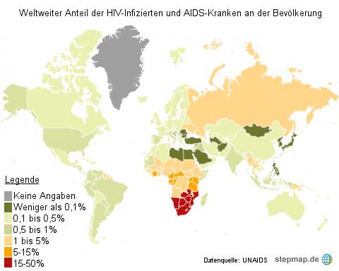 Weltaidstag - Aidskranke weltweit
