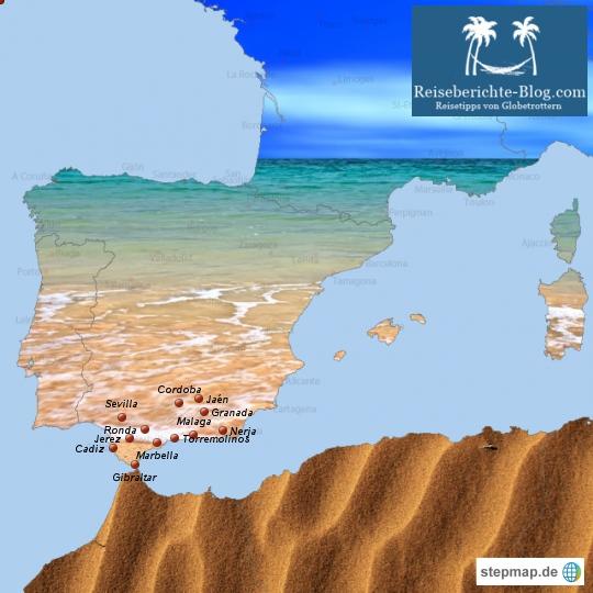 Spanienurlaub in Andalusien