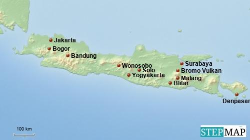 Rundreise durch Java und Bali