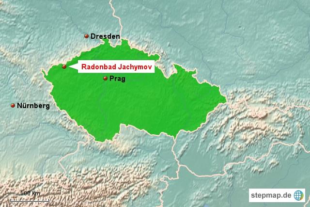 Radonbad Jachymov, St. Joachimsthal