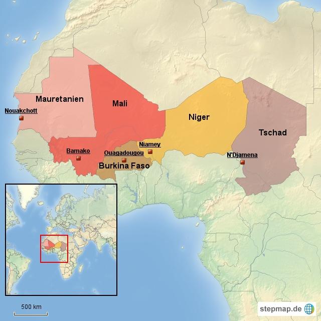 Sahelzone - Nahrungsmittelkrise 2011/12
