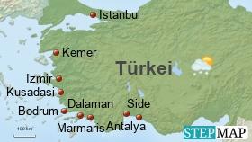 Türkei Urlaubsziele
