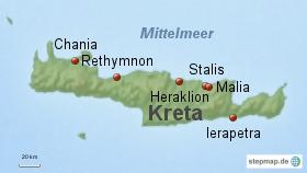 Kreta Urlaubsziele