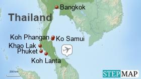 Thailand Urlaubsziele