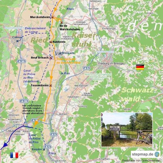 Canal du Rhône au Rhin II - nouveau