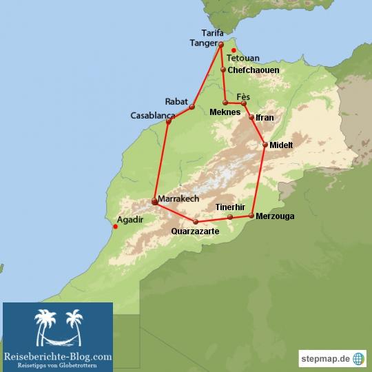Marokko Rundreise 2012