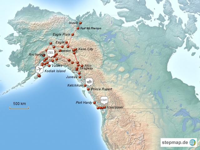 Kanada-Alaska Tour 2009