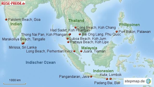 Geheimtipp-Strände Asiens