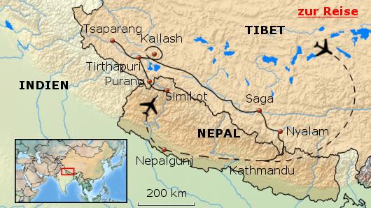 Pilgerreise zum heiligen Berg Kailash in Tibet