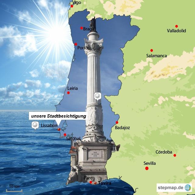 Lissabon- die Hauptstadt Portugals
