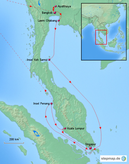 Asiens Metropolen Gruppenreise 2012