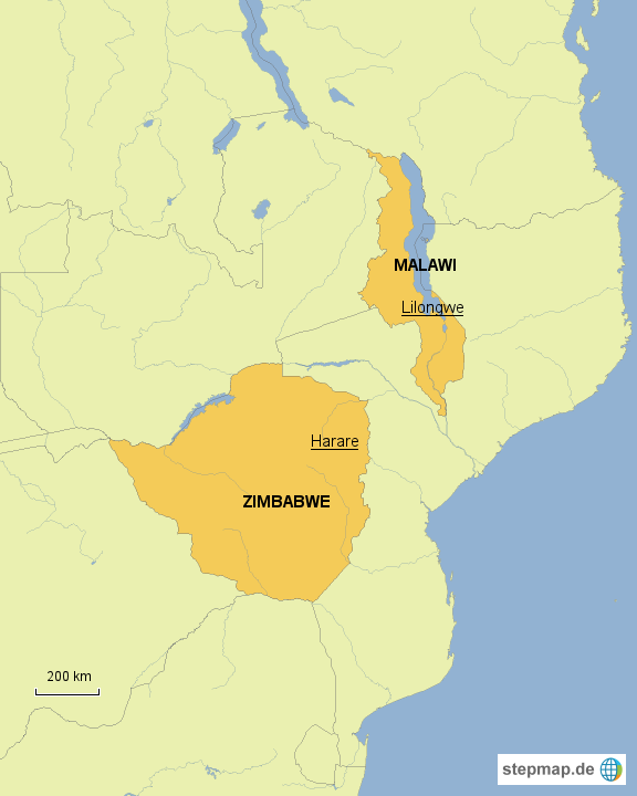 MAlawi and Zimbabwe