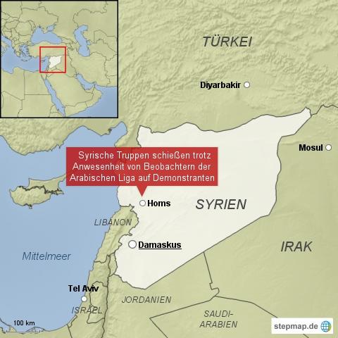 Syrische Truppen schießen weiter auf Demonstranten